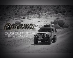 Black Scout Tutorials – Bugout Jeep Series / First Aid Kit