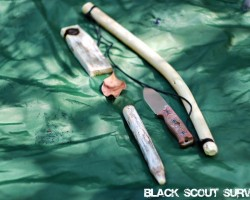 Black Scout Tutorials – Friction Fire Bow Drill Method