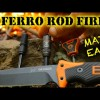"""DIY – BEST Way to Start a Fire with Firesteel and Knife / Ferro Rod – """"How to"""""""