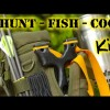 "DIY – Survival / Bug Out – Hunting Fishing Cooking Kit – SERE Sling Bow / SlingShot – ""First Look"""