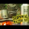 DIY – Survival / Bug Out Water & Filter Kit – EDC – Emergency – Sawyer / Klean Kanteen / GSI