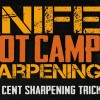Easily Sharpen Any Knife – Two Cent Sharpening Trick – Knife Sharpening Boot Camp #1