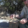 How to Make A Two Stick Deadfall Trap + EDC 4 Review and Field Test