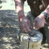 How To Make Fire Using Pine Pitch