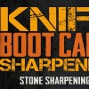 How to Sharpen a Knife with a Stone – to a Shaving Sharp  – Knife Sharpening Boot Camp #2