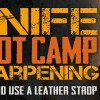 How to Strop a Knife – RAZOR Sharp Blade Stropping – Knife Sharpening Boot Camp #3
