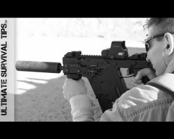 Kriss Vector Sub Machine Gun – And Other Weapons on the Range in Las Vegas