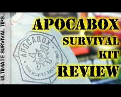 NEW! ApocaBox Subscription Based Survival Kit – REVIEW – Does it Rock or Reak? You Decide…