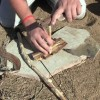 Primitive Fire Using the Bow Drill