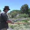 Shooting A Traditional Red Oak Bow