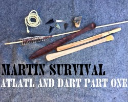How to Make an Atlatl and Dart Part One
