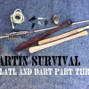 How to Make an Atlatl and Dart Part Three