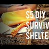 $5 DIY Survival Shelter