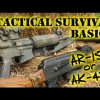 BEST Tactical Survival Rifle for Civilians – AR15 or AK47? AK-47 VS AR-15 – NEW Buyers Guide