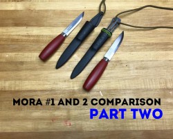 Mora Classic #1 vs #2, Part Two Knife Review