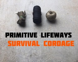 Survival Rope Options and Natural Fiber