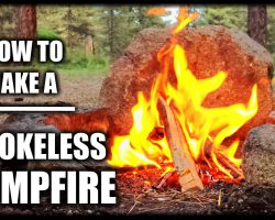 """How To Make A Smokeless Campfire – """"Tip Of The Week"""