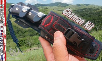 Survival Knife Chaman kit Made in Spain