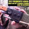 2017 FAQ: My Top 5 Favorite Primary Fixed Blade Knives (For Outdoors) – Preparedmind101