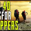 40 Survival Tips for Preppers.