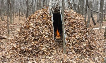BUSHCRAFT FOREST GROUP SHELTER