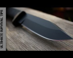 NEW – Cold Steel SRK Survival / Rescue Knife – REVIEW
