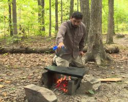Survival Skills: How to Cook Food on a Rock