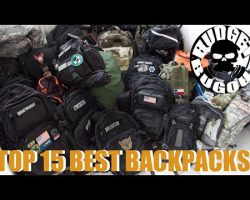 Top 15 Best Backpacks | TACTICAL, HIKING, CAMPING, EVERYDAY CARRY, TECH, TRAVEL, & SURVIVAL KITS