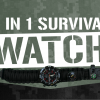 5 in 1 survival watch