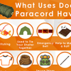 What uses does paracord have