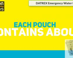 Datrex Emergency Water Packet – 3 Day/72 Hour Supply (24 Packs)