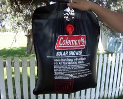 Coleman Solar Shower Review