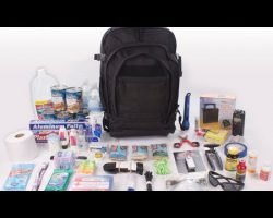 Disaster Preparedness: Be prepared with the Bugout Bag #5016