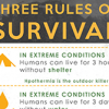 Three rules of survival