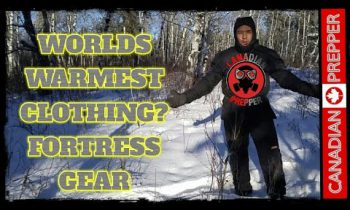 The Warmest Winter Survival Clothing: Fortress Gear | Canadian Prepper