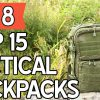 15 Best Tactical Backpacks 2018