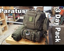Paratus 3 Day Operators Pack Tactical and Camping Backpack
