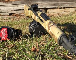 Springfield Armory M1A Socom 16 meets the X-Products 50 round .308 drum!