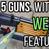 Top 5 Guns With Strange WTF Features