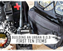 Urban Bug Out Bag Getting Started (First 10 Items)
