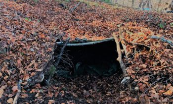 3 Day Winter Survival Underground Shelter Bushcraft Overnighter Trip