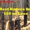 Best Knives For $50 or Less