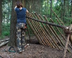 Building A Primitive Shelter