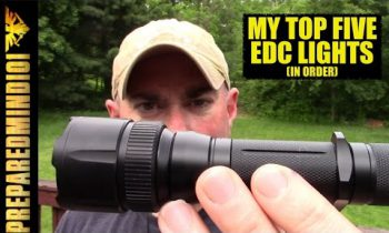 My Top Five EDC Flashlights (In Order) and Why – Preparedmind101