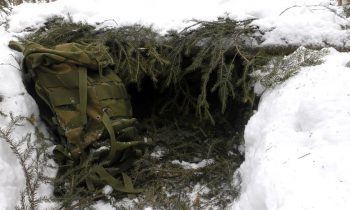 Winter Survival – 15 minutes shelter